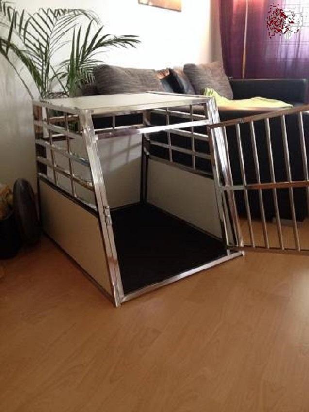 Hundebox Transportbox aus Stahl